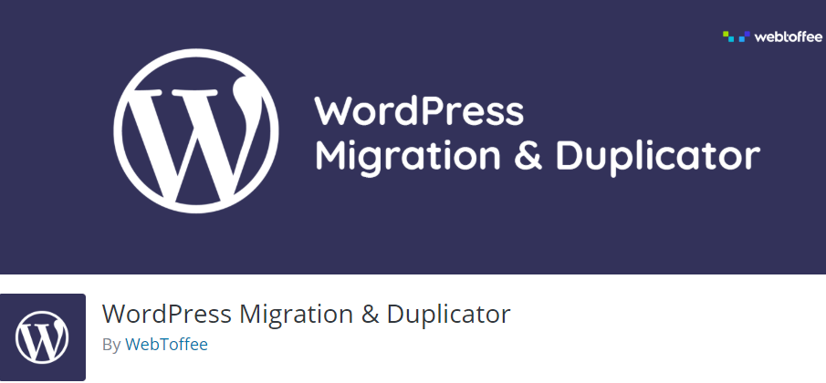 WordPress Migration and Duplicator