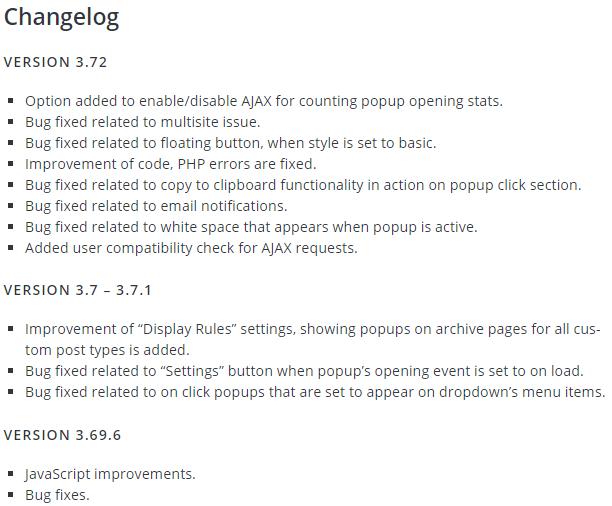 WordPress Plugin Tips